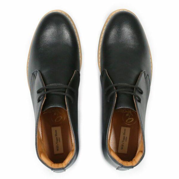 Wills Vegan Shoes Signature Desert Zwart 2