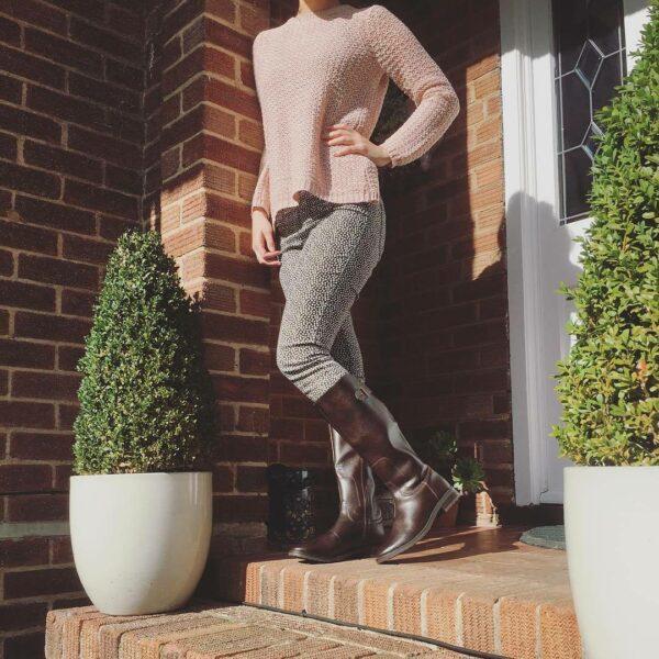 Wills Vegan Shoes Tread Knee Boots 1