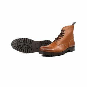 wills vegan shoes work boots tan dames 3