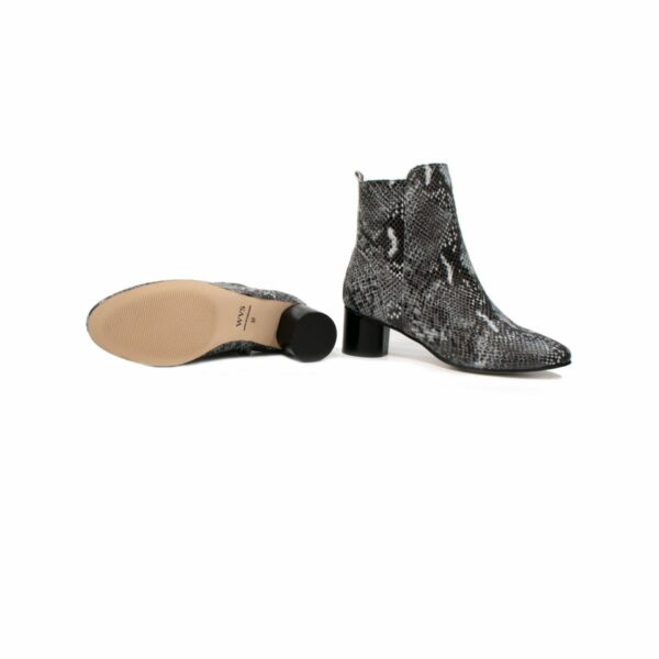 Wills Vegan Shpes Snake Print Boots Slangeprint 2