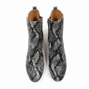wills vegan shpes snake print boots slangeprint 4