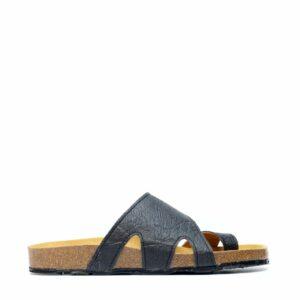 nae daros zwart sandalen pinatex unisex 2