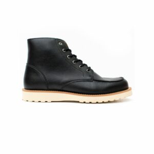 wills vegan shoes low rig boots zwart 6